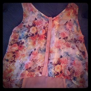 Band of Gypsies sleeveless blouse